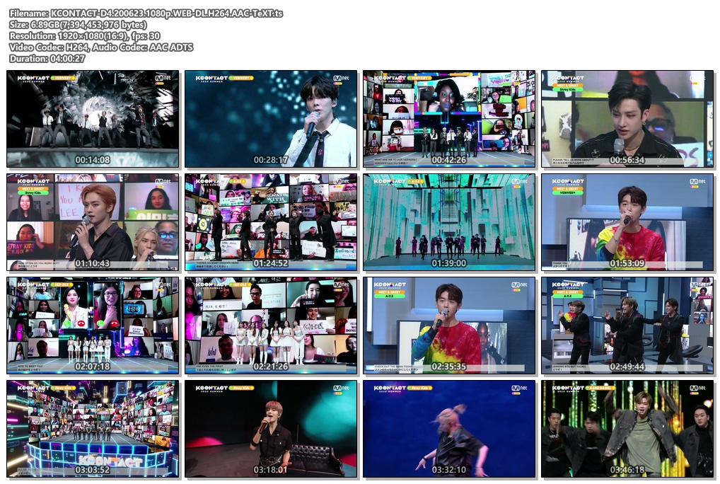 [TV-Variety] KCON:TACT 2020 Summer Day 4 (2020.06.23)