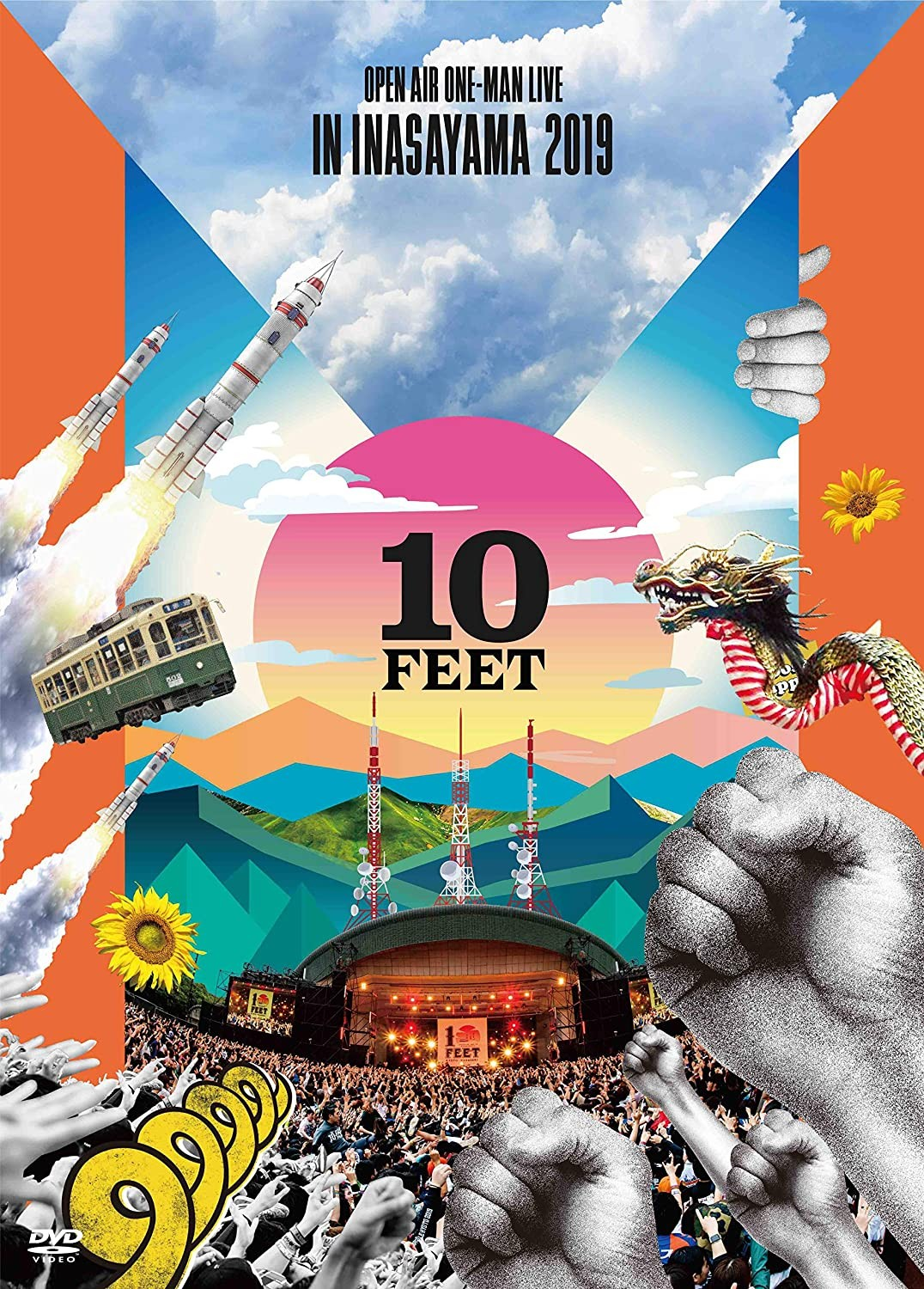 [TV-SHOW] 10-FEET OPEN AIR ONE-MAN LIVE IN INASAYAMA 2019 (2019.11.13) (DVDRIP)