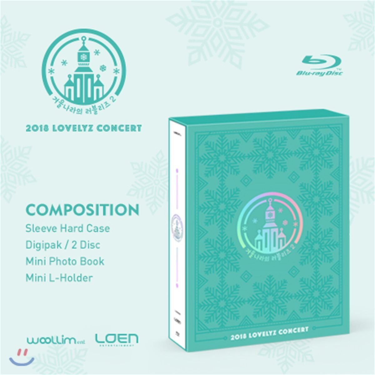 "[TV-SHOW] Lovelyz – 2018 LOVELYZ Concert ""Lovelyz in Winterland 2"" (2018.11.20) (BDRIP)"