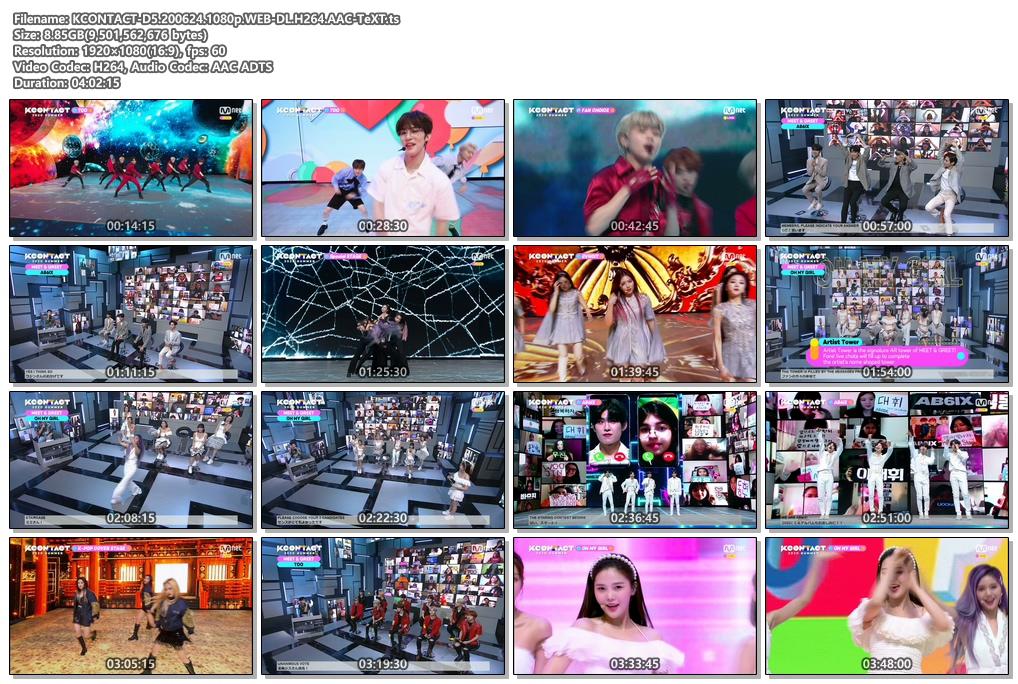 [TV-Variety] KCON:TACT 2020 Summer Day 5 (2020.06.24)