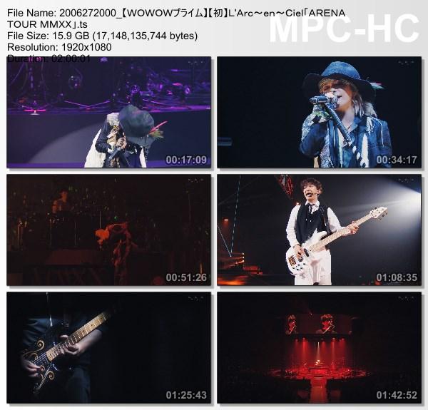 """[TV-Variety] L'Arc~en~Ciel """"ARENA TOUR MMXX"""" (WOWOW Prime 2020.06.27)"""