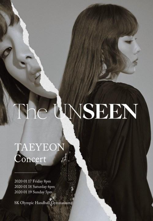 [Album] Taeyeon (태연) – The UNSEEN Taeyeon Concert In Seoul [MP4 1080p / WEB] [2020.06.23]