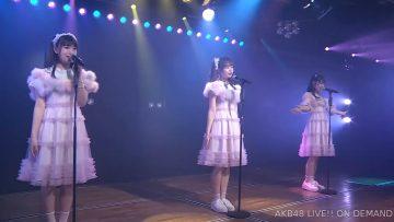 [TV-Variety] 200704 AKB48「さとれいまほ ソーシャルディスタンス」劇場公演 19:00
