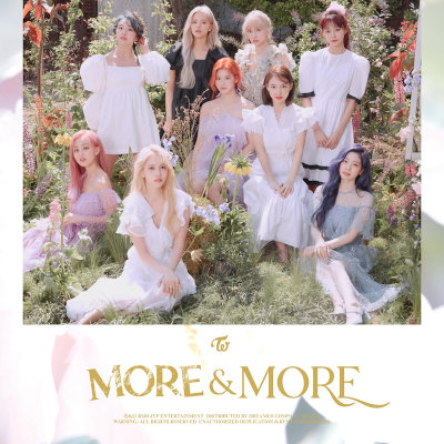 [Single] TWICE – MORE & MORE (English Ver.) [FLAC + MP3 320 / WEB]