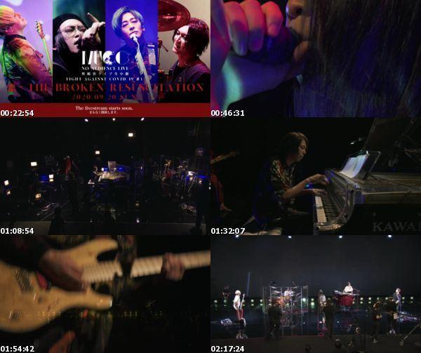 [TV-Variety] ムック – MUCC ~Fight against COVID-19 #3~『惡-THE BROKEN RESUSCITATION』[2020.09.20]