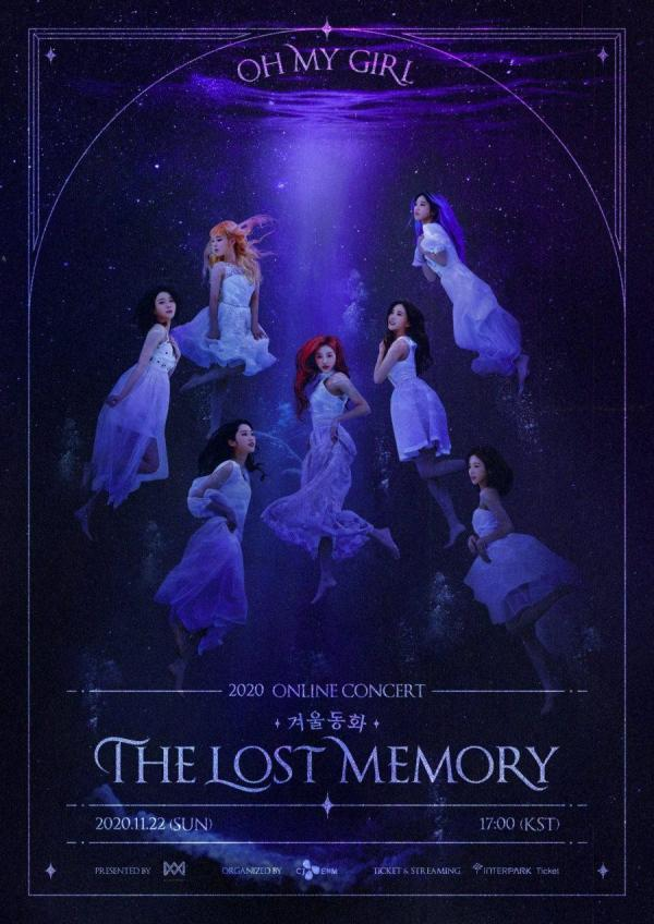 [MUSIC VIDEO] OH MY GIRL – ONLINE CONCERT [Winter fairy tale : The Lost Memory] (2020.11.22/MP4/RAR)…