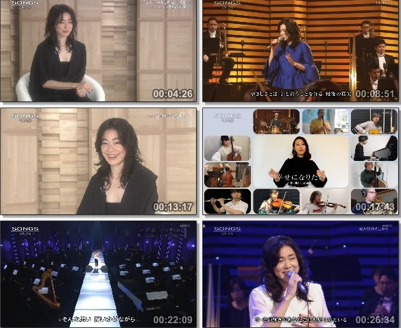 [TV-Variety] NHK SONGS (2020.11.21) – 第557回 – 今井美樹