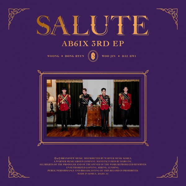 [Single] AB6IX (에이비식스) – SALUT [FLAC / 24bit Lossless / WEB] [2020.11.02]