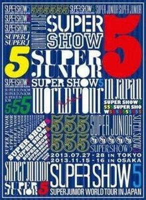 [TV-SHOW] SUPER JUNIOR 슈퍼주니어 – SUPER JUNIOR WORLD TOUR: SUPER SHOW5 in JAPAN (2014.01.29) (BDRIP)