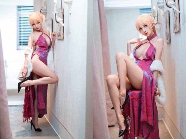 [Cosplay] Rioko 凉凉子 – OTS-14 Dress (Girls' Frontline)