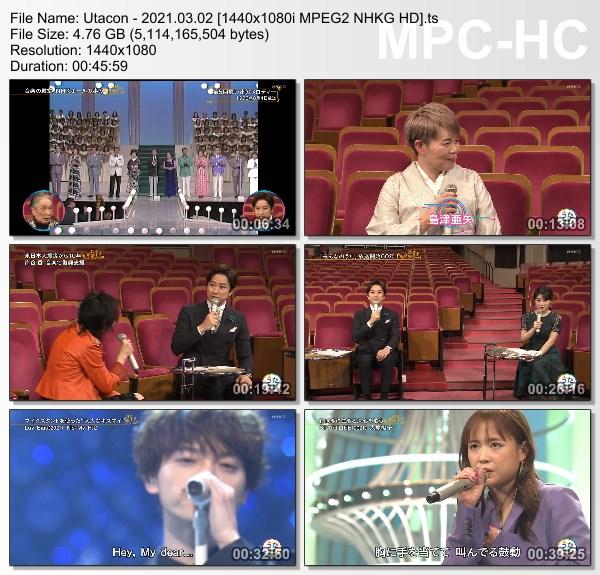 [TV-Variety] うたコン – 2021.03.02