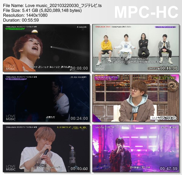 [TV-Variety] Love Music – 2021.03.21
