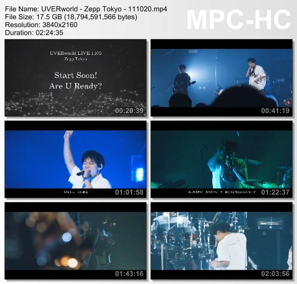 [TV-Variety] UVERworld LIVE 1105-Zepp Tokyo-