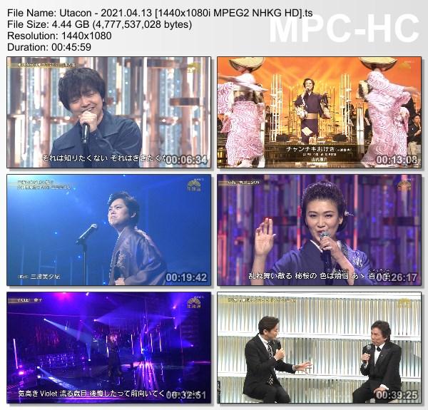 [TV-Variety] うたコン – 2021.04.13