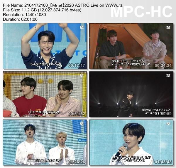 [TV-Variety] 아스트로 – 2020 ASTRO Live on WWW. (Mnet Japan 2021.04.17)