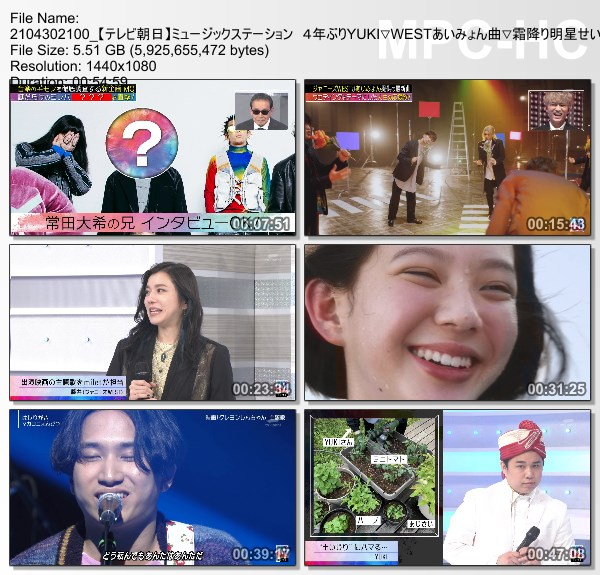 [TV-Variety] MUSIC STATION – 2021.04.30