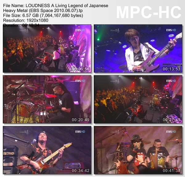 [TV-Variety] ラウドネス – A Living Legend of Japanese Heavy Metal (EBS Space 2010.06.07)