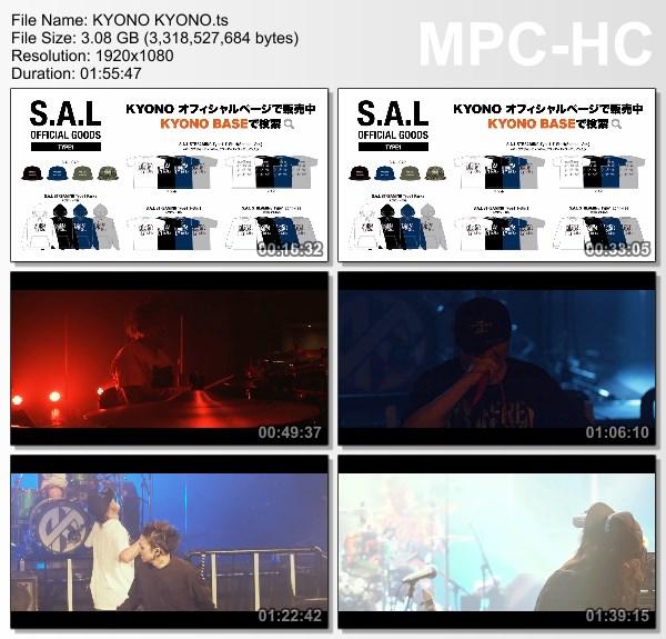 "[TV-Variety] オムニバス – KYONO KYONO LIVE!! ""S.A.L"" Streaming 2021 [2021.04.17]"