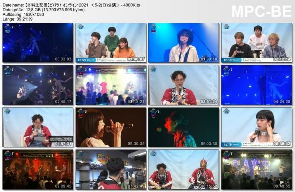 [TV-Variety] Live Broadcast! VIVA LA ROCK 2021 DAY 2 (2021.05.02)