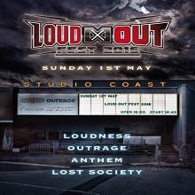 [TV-SHOW] LOUDNESS, OUTRAGE, ANTHEM, LOST SOCIETY – Loud Out Fest 2016 (2021.05.14) (DVDVOB)