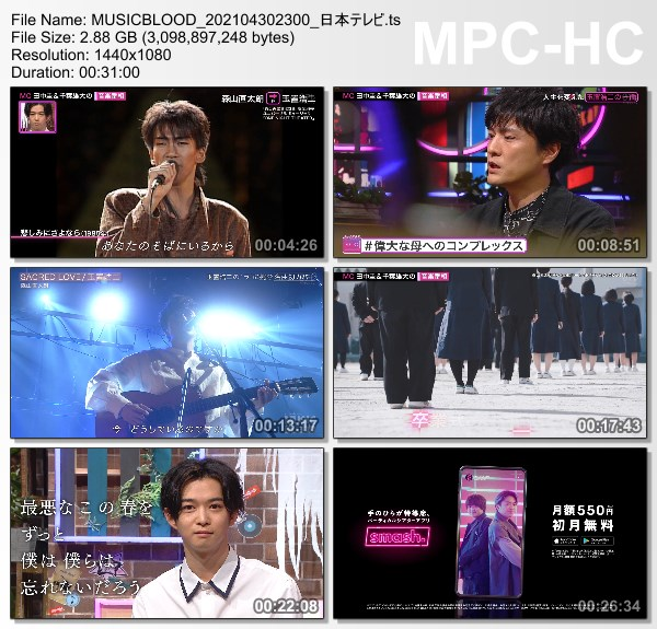 [TV-Variety] Music Blood – 2021.04.30