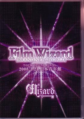 [TV-SHOW] WIZARD – 「Film Wizard -BRAND NEW WORLD-」~TOUR DIVINE FINAL 2008'3.24 日本青年館 (2009.02.18) (DVDVOB)