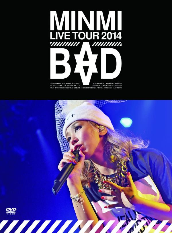 [TV-SHOW] MINMI – MINMI LIVE TOUR 2014 BAD (2015.05.27) (DVDRIP)