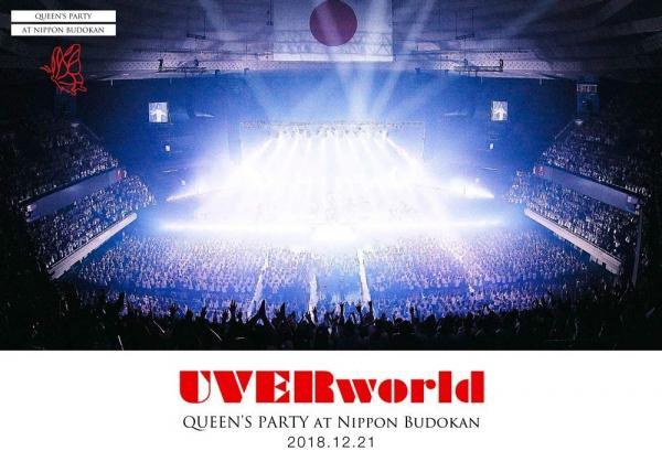 [TV-SHOW] UVERworld – UVERworld QUEEN'S PARTY at Nippon Budokan 2018.12.21 (2019) (BDRIP)