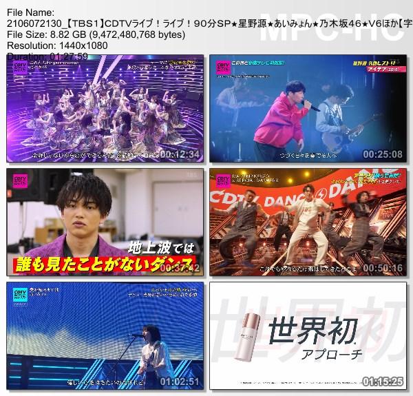 [TV-Variety] CDTVライブ!ライブ! – 2021.06.07