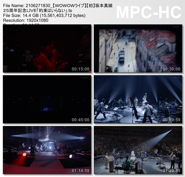 [TV-Variety] 坂本真綾 25周年記念LIVE「約束はいらない」(WOWOW Live 2021.06.27)