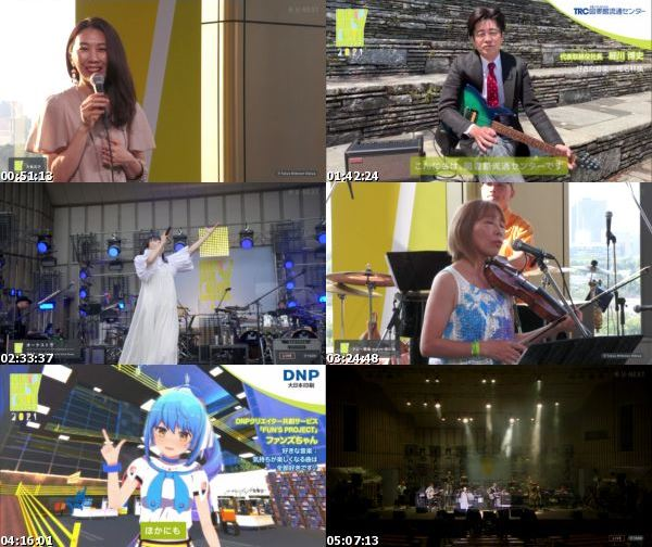 [TV-Variety] 日比谷音楽祭 (U-Next 2021.05.30 Ch1)