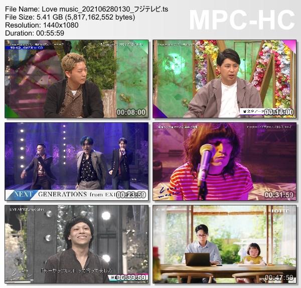 [TV-Variety] Love Music – 2021.06.27