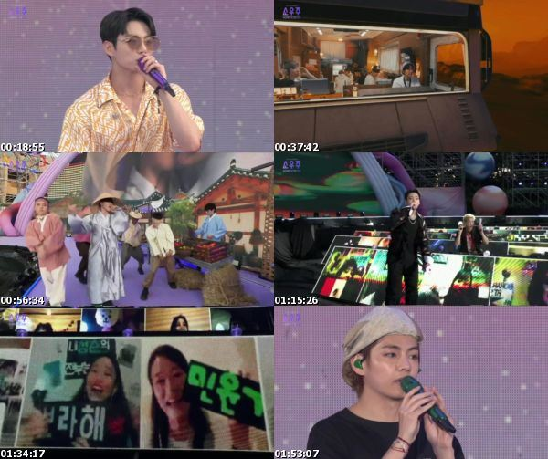 [TV-Variety] 방탄소년단 – 2021 BTS MUSTER SOWOOZOO (Day 1) 2021.06.13