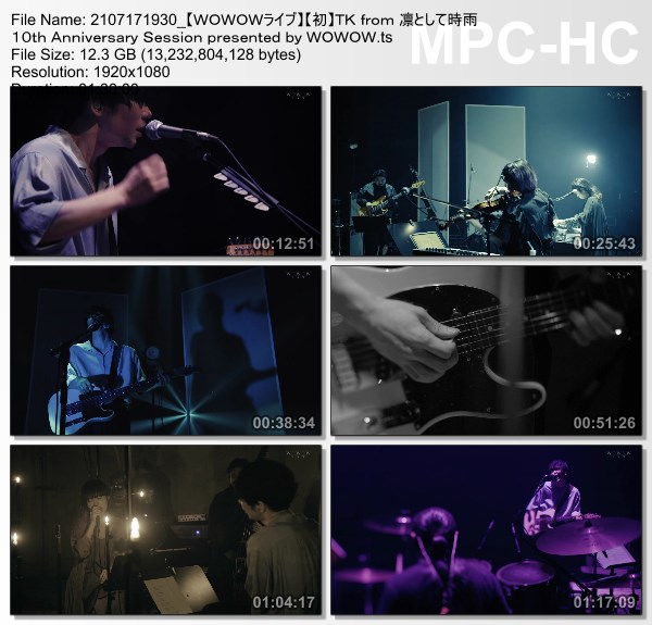 [TV-Variety] TK from 凛として時雨 10th Anniversary Session (WOWOW Live 2021.07.17)
