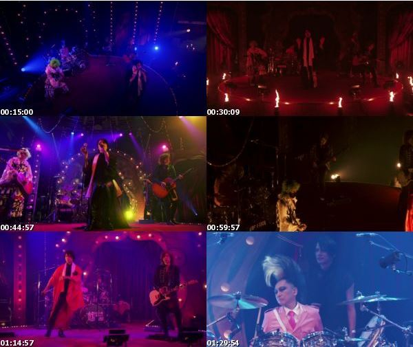[TV-Variety] BUCK-TICK – 2021.07.17 魅世物小屋が暮れてから〜SHOW AFTER DARK