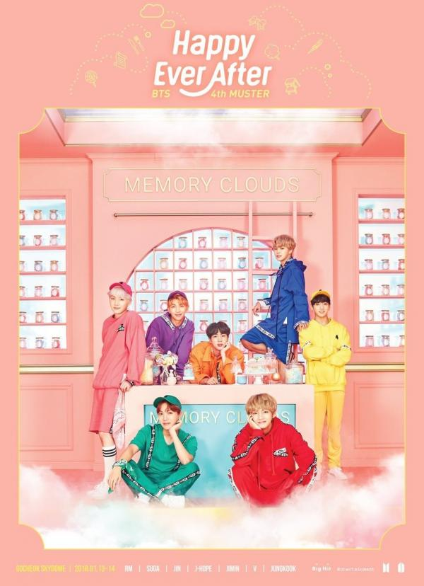 [MUSIC VIDEO] BTS 방탄소년단 – BTS 4th MUSTER [Happy Ever After] (2018.10.10/MP4/RAR) (BDRIP)