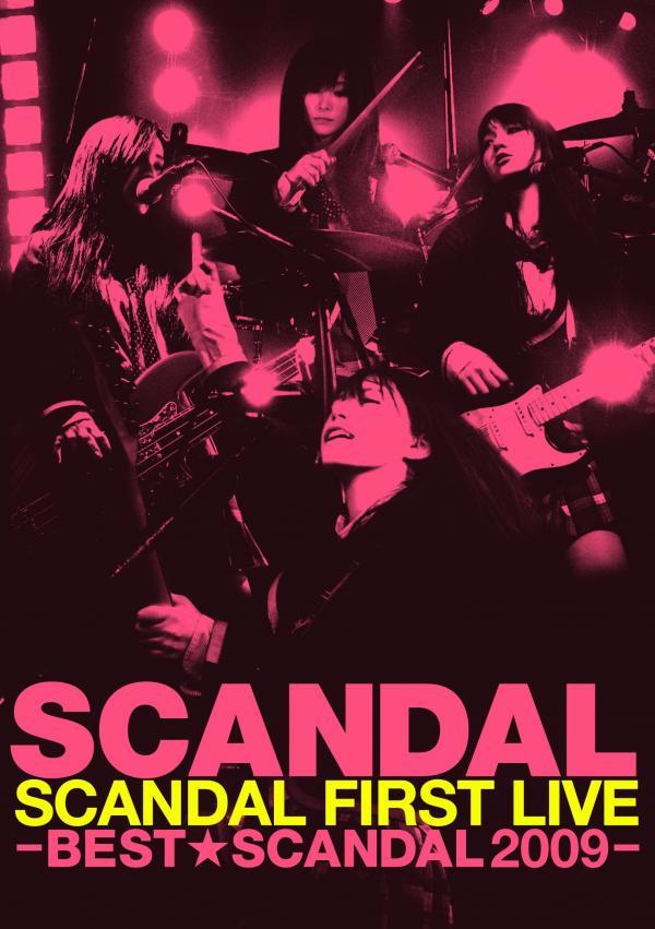 [TV-SHOW] SCANDAL – SCANDAL FIRST LIVE −BEST★SCANDAL 2009− (2010.06.03) (DVDREMUX)