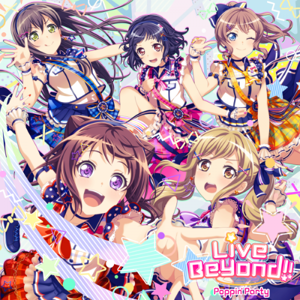 [Single] BanG Dream!: Poppin'Party – Live Beyond!! (2021.08.18/MP3/RAR)
