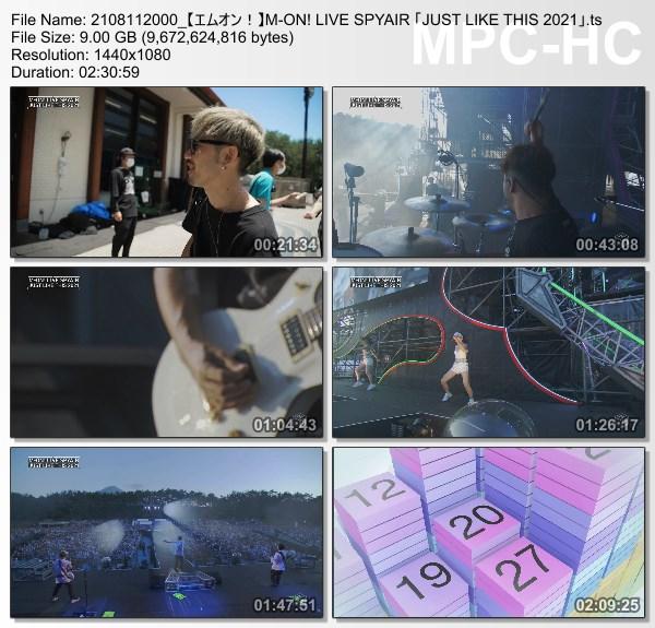 [TV-Variety] SPYAIR JUST LIKE THIS 2021 (M-ON! HD 2021.08.11)