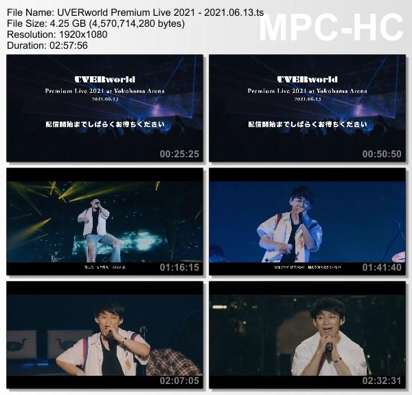 [TV-Variety] UVERworld Premium Live 2021 at Yokohama Arena 2021.06.13 Night [2021.07.06]