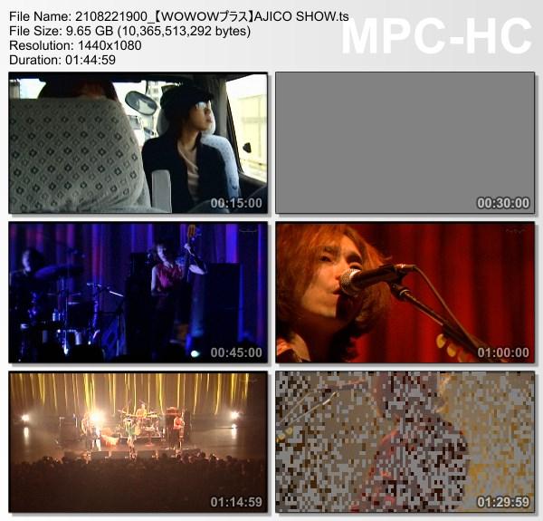 [TV-Variety] AJICO SHOW (WOWOW Plus 2021.08.22)