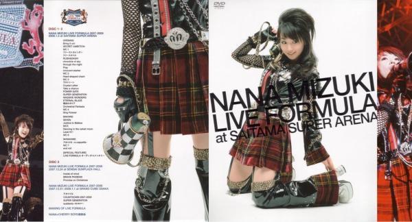 [TV-SHOW] 水樹奈々 – LIVE FORMULA at SAITAMA SUPER ARENA (2008.05.09) (DVDRIP)