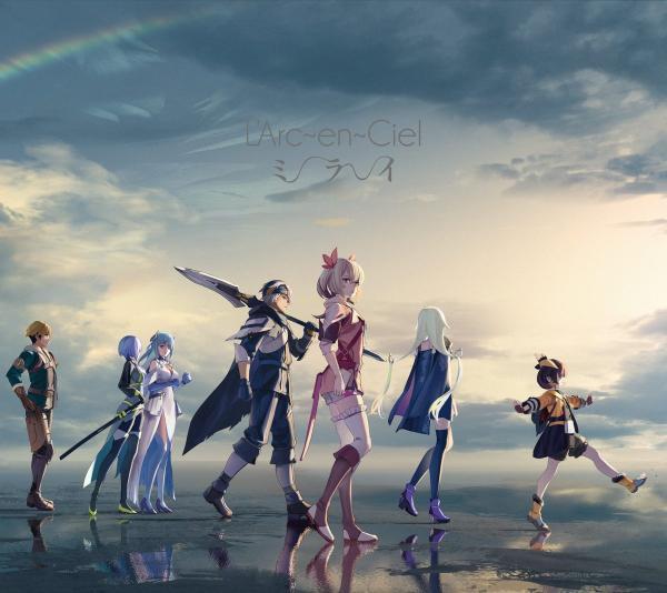[Single] L'Arc~en~Ciel – ミライ (2021.08.25/MP3+Flac/RAR)