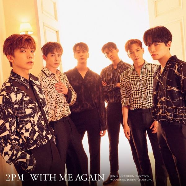 [Single] 2PM – WITH ME AGAIN [FLAC 24bit + MP3 320 / WEB]