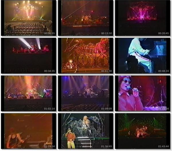 [TV-Variety] X JAPAN – DAHLIA TOUR Rehearsal (1995.11.28)