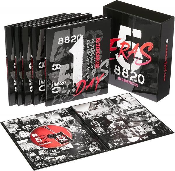 [TV-SHOW] B'z – B'z SHOWCASE 2020 -5 ERAS 8820- Day1~5 COMPLETE BOX (2021.08.25) (BDISO)