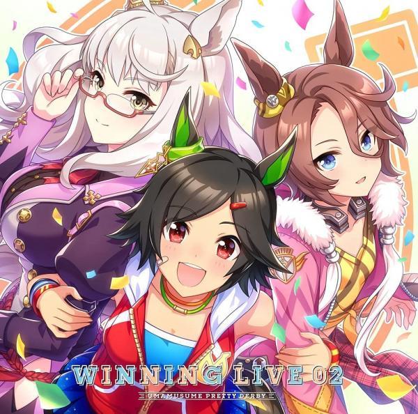 [Album] ウマ娘 プリティーダービー WINNING LIVE 02 (2021.09.22/MP3/RAR)