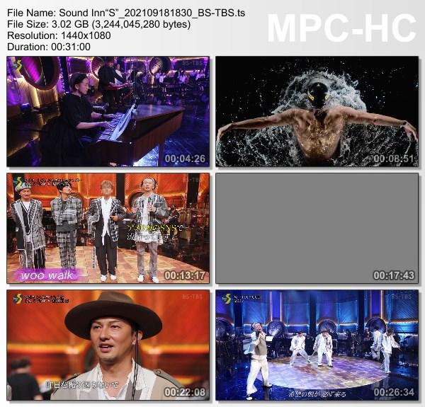 "[TV-Variety] DA PUMP – サウンド・イン""S"" (BS-TBS 2021.09.18)"