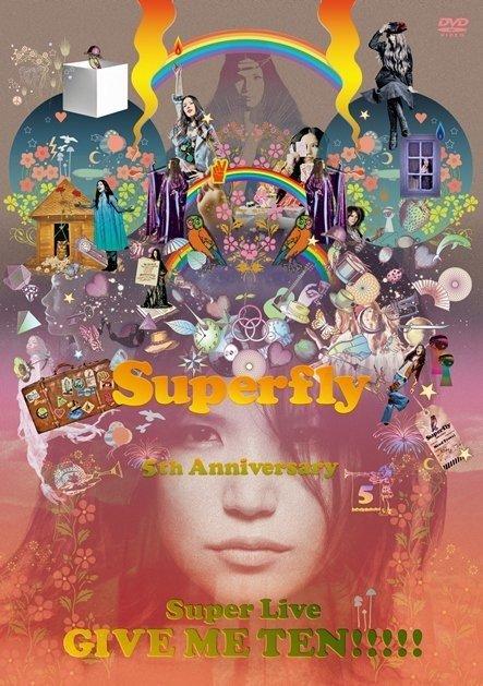 [TV-SHOW] Superfly – 5th Anniversary Super Live GIVE ME TEN!!!!! (2013.11.13) (BDMV)