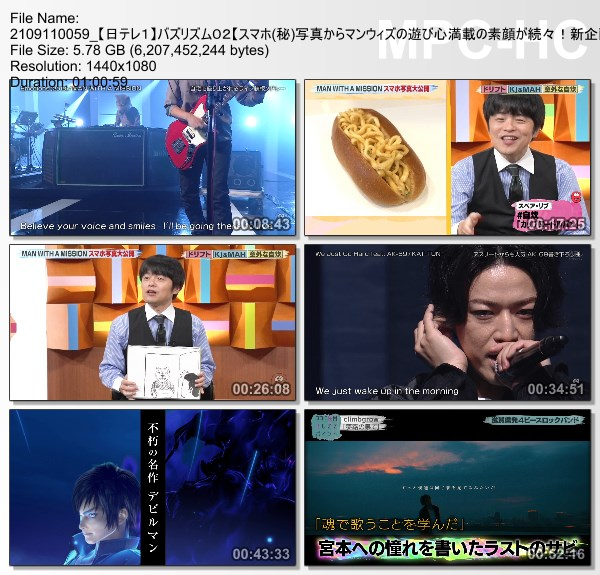 [TV-Variety] バズリズム02 – 2021.09.10